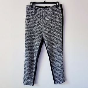 Alice + Olivia high waisted Ankle Cropped pants